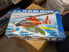 Trumpeter HH65A Dolphin Search + Rescue US Coast Guard 1:48 Helicopter Kit 02801