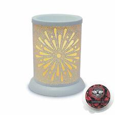Starburst Electric wax burner  (tart warmer) with light & celebration scents
