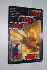 Star Wars Vintage Figur Ugnaught MOC 70 back auf Trilogo Repro Karte