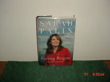 "SARAH PALIN ""GOING ROGUE"" An American Life/1st Ed/SIGNED/HC/2009/FREE SHIP!"