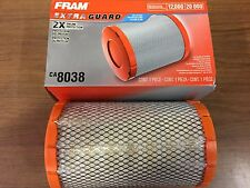 NEW High Quality FRAM CA8038 Air Filter-Extra Guard FOR Chevrolet, GMC