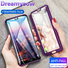 For Huawei Honor 9 8 10 20 Pro Lite 360° Full Protect Hybrid Case + Glass Cover