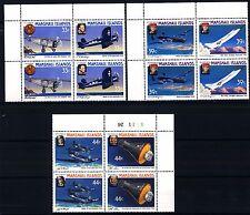 MARSHALL ISLANDS - 1987 - Aviatori famosi e astronauti