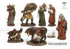 Set 8 personaggi Presepe, 20,7 cm, in resina, by Paben