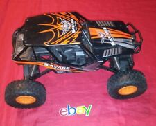 SAVAGE ELECTRIC LARGE RC REMOTE CONTROL 4X4 OFF-ROAD RACER LIGHTS SOUND 17X9X11