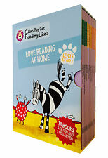 Collins Big Cat lectura Leones nivel 1,2,3: Fluent Lectura En Casa