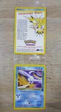 Articuno Rare Pokemon Card Wizards Movie 2000 Black Star Promo #22 - Sealed New