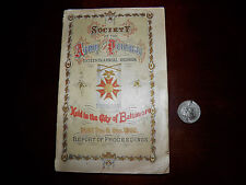 1885 Society of The Army of The Potomac 16th Reunion Baltimore/W Medal