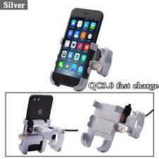 New motorcycle mobile phone bracket waterproof QC3.0 fast charge multi-function