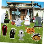 Halloween Decorations Outdoor Yard Signs with Stakes, halloween yard signs