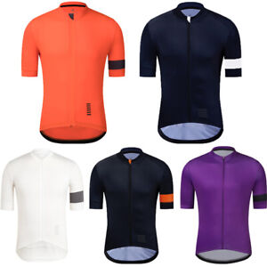 YKYWBIKE Men's Full Zipper Cycling Jersey Bicycle Shirt Short Sleeves MTB bike