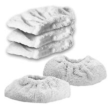 KARCHER SC6002 Steam Cleaner Terry Cloth Cover Pads Hand Tool Cleaning Pad x 5