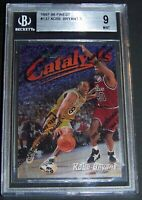 1997-98 Topps Finest Kobe Bryant Catalyst #137 BGS 9.0 with Coating 9.5 subgrade
