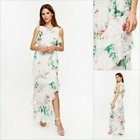 Wallis Maxi Dress Size 8 | Ivory Floral Print | BNWT | £65 RRP | Brand New!