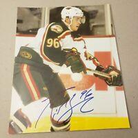 Pierre-Marc Bouchard Minnesota Wild 8x10 Signed Auto Autograph NHL Picture