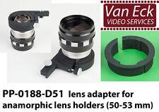 Lens adapter for anamorphic lens holders (50-53 mm) (PP-0188-D51)