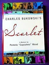 New listing Pamela 'Cupcakes' Wood,Bukowski, Linda King -*Signed* Scarlet, First Edition