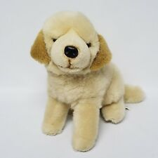 Fao Schwarz Fifth Avenue Plush Yellow Labrador Golden Retreiver Dog 12""