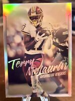 TERRY MCLAURIN 2019  CHRONICLES LUMINANCE ROOKIE CARD  #216 WASHINGTON  RC