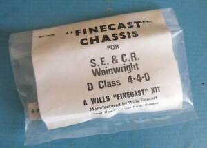 Wills Finecast OO 4mm Metal Chassis Kit SE&CR Wainwright Class D 4-4-0 Loco