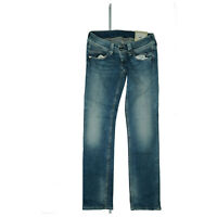 Pepe Jeans Venus Straight Stretch Trousers Sexy Bottom 27/33 W27 L32 Blue New