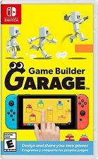 Game Builder Garage Switch Usa physical game