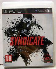 SYNDICATE (ENG+ITA) [Playstation 3 PS3 2012] Usato Garantito