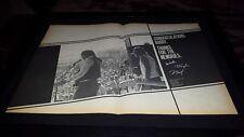 Waylon Jennings Willie Nelson Rare Original Freyline Promo Poster Ad Framed!