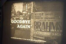 16mm FILM NOIRE  GOODBYE AGAIN  1961 B/W INGRID BERGMAN/A.PERKINS /YVES MONTAND