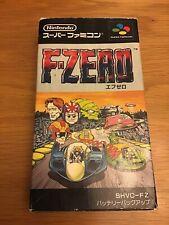 F-ZERO F zero Ref/ccc Super Famicom Nintendo sf
