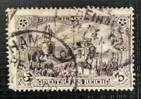 GERMANY 1902 - Deutsches Reich violet-black 3m used SG80A