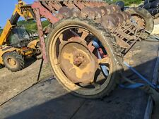 MASSEY FERGUSON REAR TRACTOR ROW CROP WHEEL - CAME OF MF 50 SEED DRILL