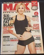 MAX SPORTS & FITNESS - FEBRUARY 2014 - MAGAZINE BACK ISSUE