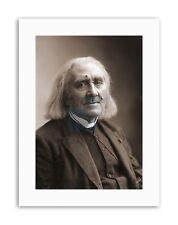 Nadar compositeur Franz Liszt Toile Art Prints