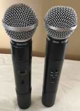 Shure SM58 Microphones 2 pieces    ** for parts or repair **