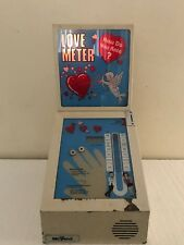 Tabletop Love Meter Vending Machine Coin Operated How Do You Rate ? Needs Tlc