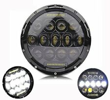 """7"""" Inch LED Motorcycle Headlight Daymaker Projector Bulb Harley & Jeep Wrangler"""