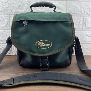 Lowepro Nova 2 Shoulder SLR Camera Bag - Ideal for Sony Nikon Canon Green/Grey