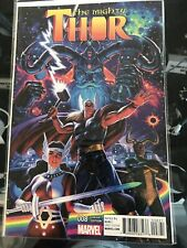 The Mighty Thor #8 (2016) 1:15 Greg Hildebrandt Cover Jason Aaron Dauterman
