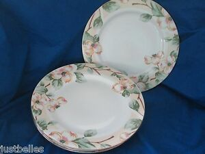 Fairfield DOGWOOD Dinner Plate 1 of 3 available yellow, pink flowers