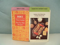 Vintage Betty Crockers large lot  step by step recipe card set with index