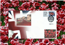 NMRN Stamp. VE DAY 70th Anniversary. WW11 anniversary Special Postmark 8th May