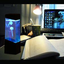 Jellyfish Lamp Electric Jellyfish Tank Aquarium Color Changing Mood Lamp Light