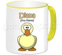Personalised Gift Animal Duck Mug Coffee Tea Fun Present Idea Birthday Any Name