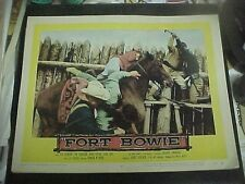 FORT BOWIE, orig 1958 LC #8 [Indians attack troopers in fort]