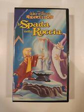LA SPADA NELLA ROCCIA - VHS WALT DISNEY NUOVA SIGILLATA!