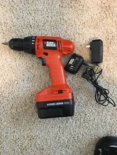 Black And Decker 14.4 V Drill W Battery And Charger