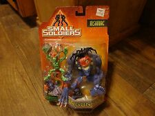 1998 HASBRO--SMALL SOLDIERS MOVIE--INSANIAC AND MIMIC FIGURES (NEW)