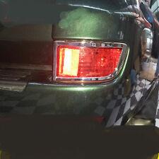 Chrome Rear Tail Fog Light Lamp Cover Trim 2pcs for Toyota Prado Fj120 2003-2009
