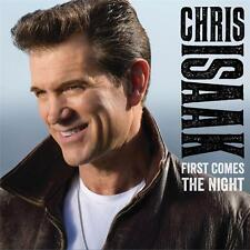 CHRIS ISAAK FIRST COMES THE NIGHT DELUXE EDITION 5 EXTRA TRACKS DIGIPAK CD NEW